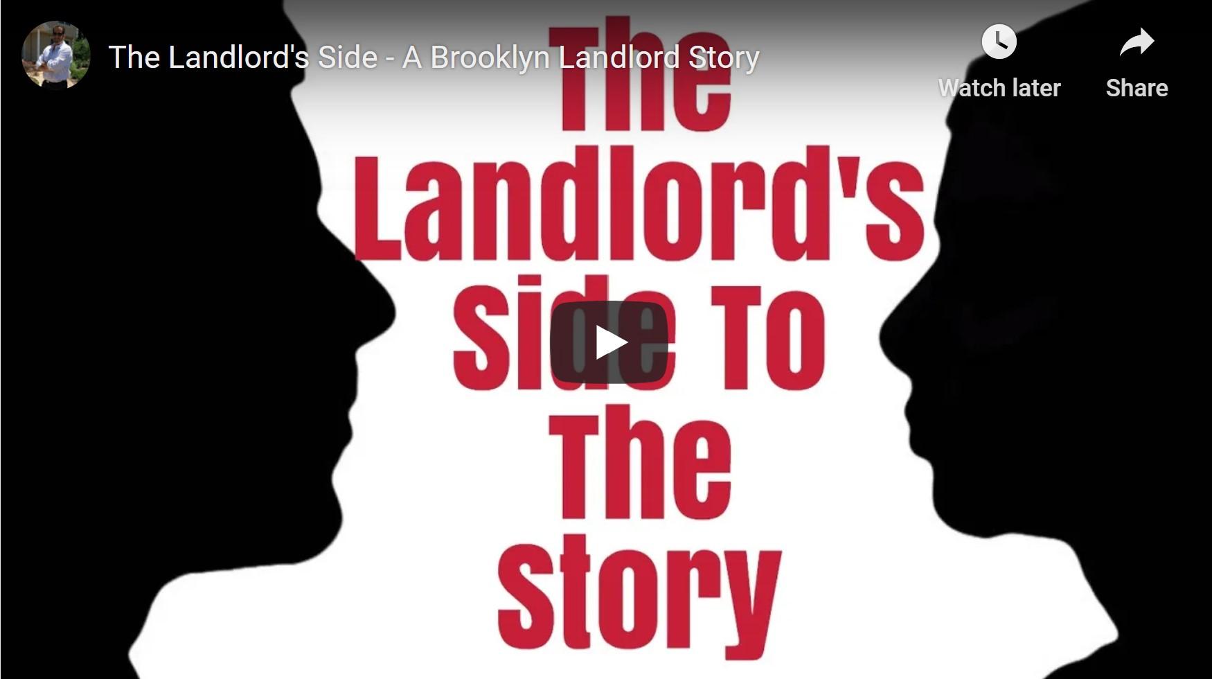 A Brooklyn Landlords Story