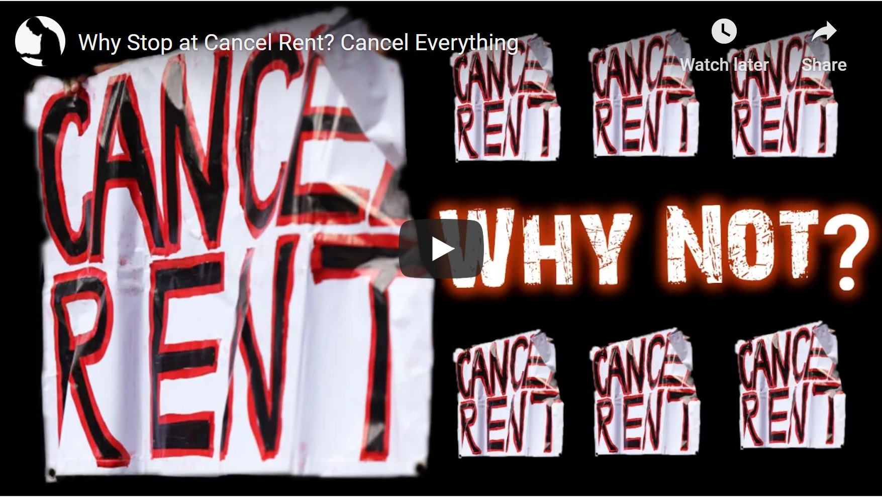 Why Stop at Cancel Rent Cancel Everything